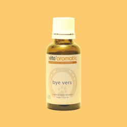 by vers 30 ml aromathérapie chiens chats