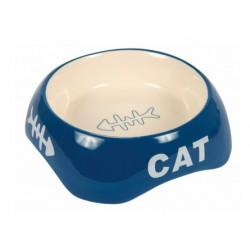 ecuelle-ceramique-divers-coloris-chat-trixie-lyon