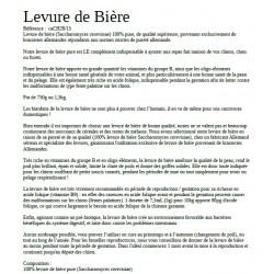 Document PDF composition compléments alimentaires Barf Lyon