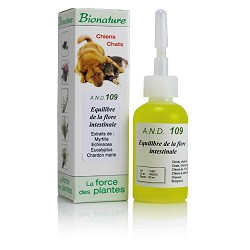 AND 109 Equilibre de la flore intestinale 30 ml