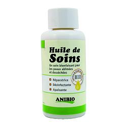 Huile de soins Anibio 100 ml