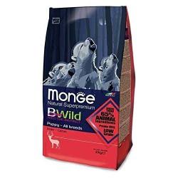 Croquettes Monge Puppy Bwild Cerf 12 kg