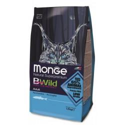 Croquette Chats Adulte BWild Monge Anchois 1,5 kg