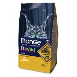 Croquette Chats Adulte BWild Monge au lièvre 1,5 kg