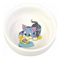 ecuelle-ceramique-motif-chat-trixie-lyon