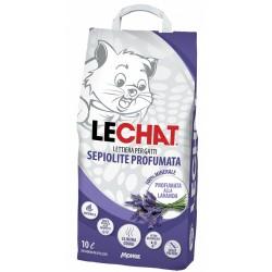 Litière LeChat Sepiolite Lavande 10 L