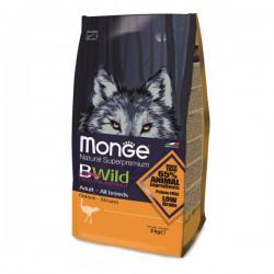 Livraison Lyon Croquette naturelles chien BWild Monge Autruche 7,5 kg
