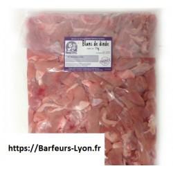 Barf Lyon : blanc de dinde 3 kg