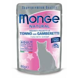 Pâtée chat Monge poche 80 grs