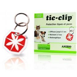 Médaille tic-clip protection tiques et puces